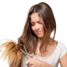 Как бороться с секущимися волосами?